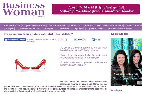 Ce se ascunde in spatele rafinatului toc stilleto? | businesswoman.ro