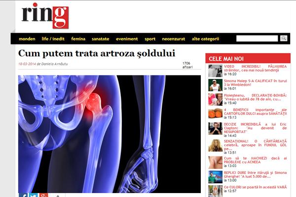 Cum putem trata artroza soldului | ziarulring.ro
