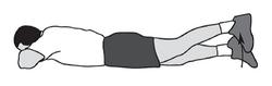 Exercitii genunchi 9.